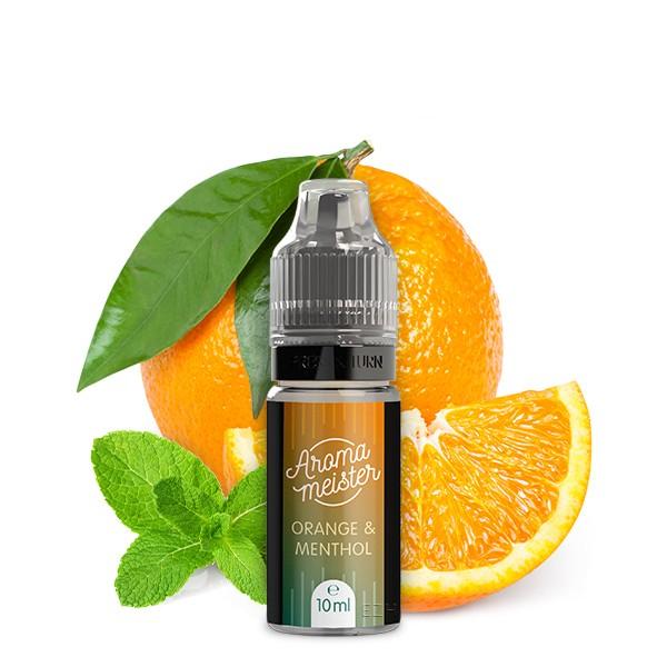 Orange & Menthol Aroma von Aromameister - 10 ml