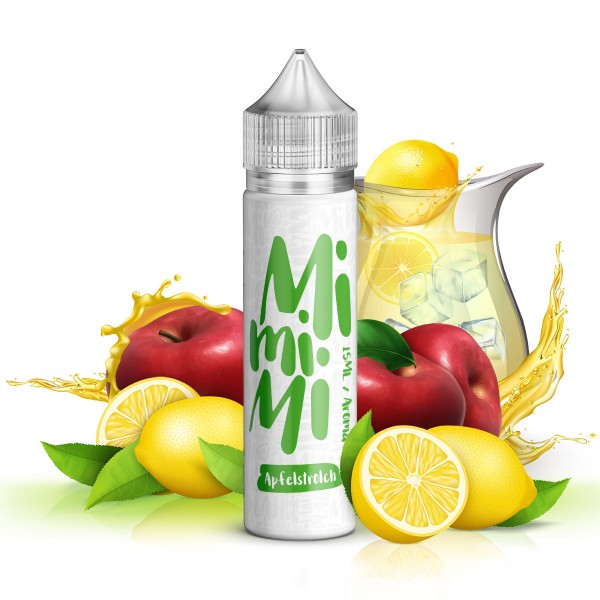Apfelstrolch - Mimimi Juice - Aroma 15ml in 60ml Flasche