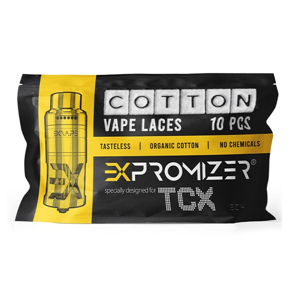 Expromizer Cotton Vape Laces Wickelwatte von EXVAPE