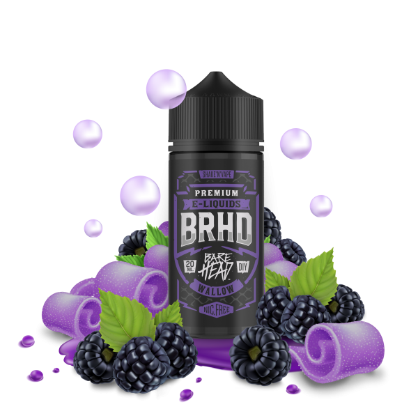 Wallow - BRHD - Barehead - 20ml Aroma in 100ml Flasche