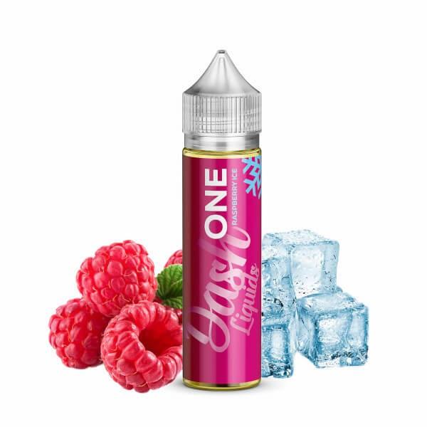 ONE Raspberry ICE - Dash Liquids - 15ml Aroma in 60ml Flasche