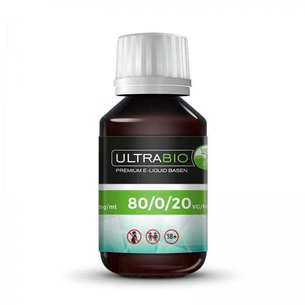 Base VG/PG/H2O 80/0/20 - Ultrabio (Varianten)
