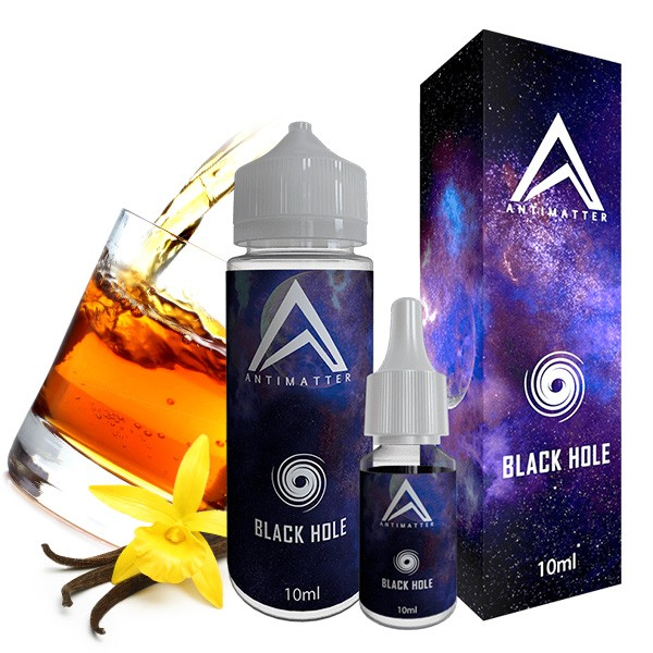 Black Hole - Antimatter - 10ml Aroma in 120ml Leerflasche
