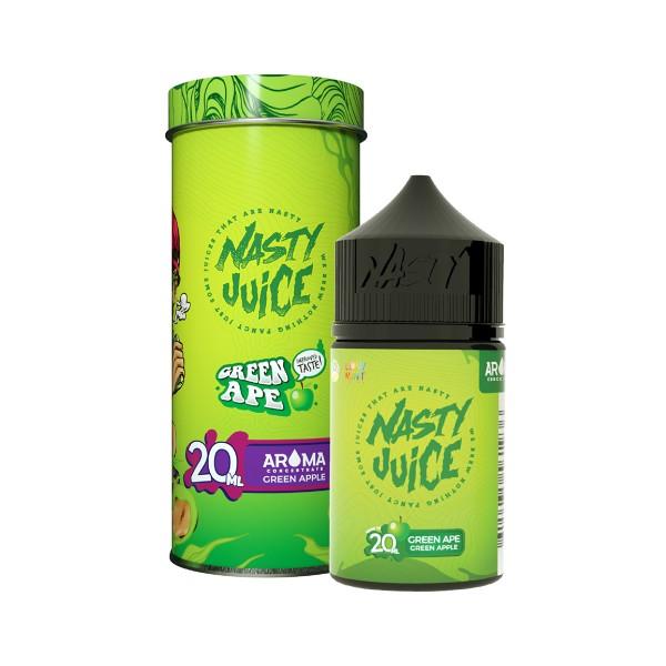 Green Ape - Yummy Fruity Series - Nasty Juice - 20ml Aroma in 60ml Flasche