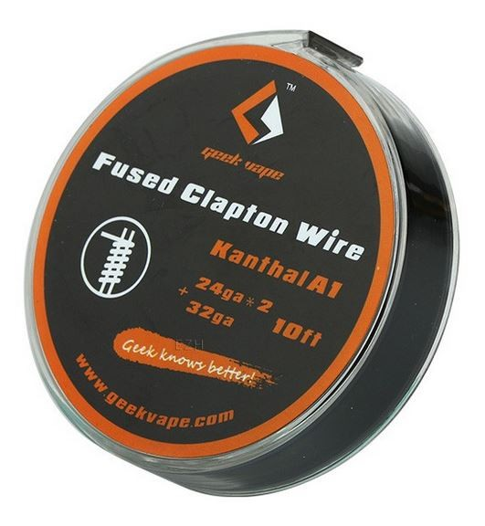 Geekvape Wickeldraht Kanthal A1 Fused Clapton auf Spule - 10ft