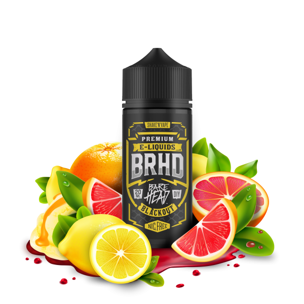Blackout - BRHD - Barehead - 20ml Aroma in 100ml Flasche