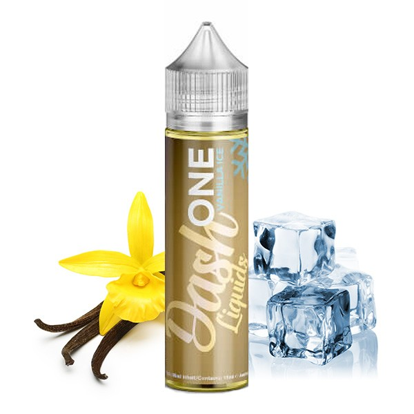 ONE Vanilla Ice - Dash Liquids - 15ml Aroma in 60ml Flasche
