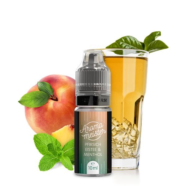 Pfirsich-Eistee & Menthol Aroma von Aromameister - 10 ml