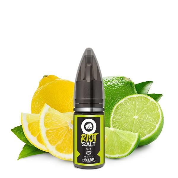 Sub Lime - Riot Salt - Hybrid Nic Salt - 10ml - 5mg
