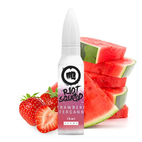 Strawberry Watercannon - Riot Squad Shots - 15ml Aroma Longfill