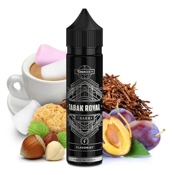 Tabak Royal Dark - Flavorist - 15ml Aroma in 60ml Flasche