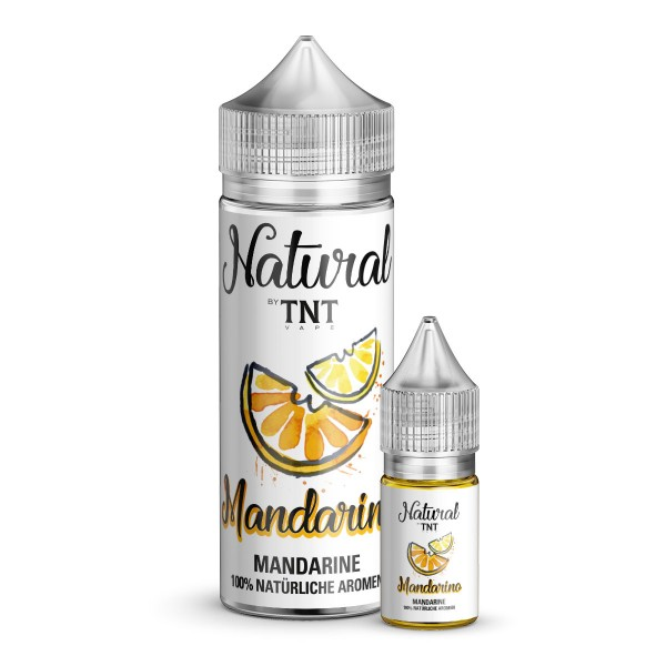 Mandarine - TNT - 10ml Aroma in 100ml Leerflasche