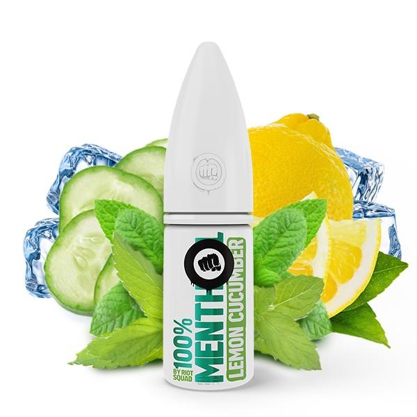 Menthol Lemon Cucumber - Riot Salt 100% Menthol - Hybrid Nic Salt - 10ml
