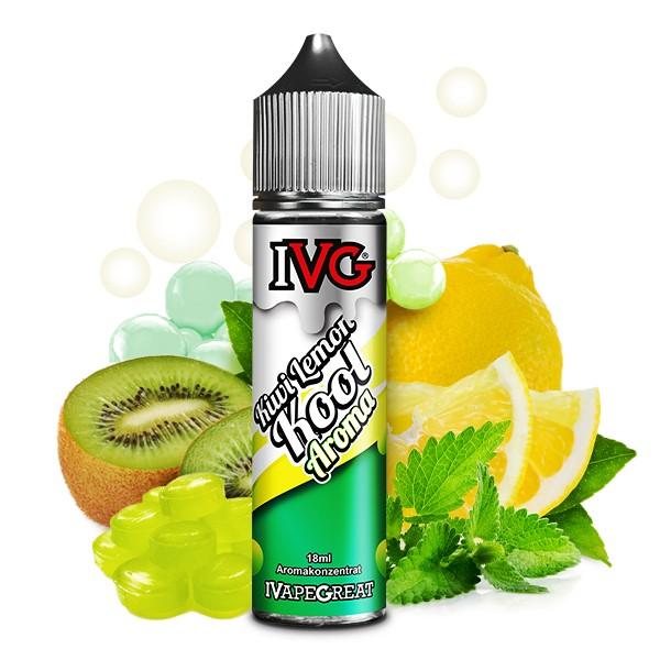 IVG - Kiwi Lemon Kool - 18ml in 60ml Flasche
