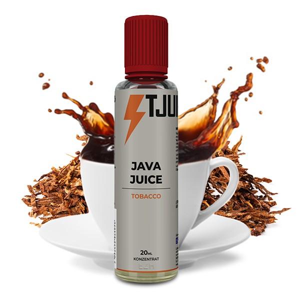 Tobacco Java Juice - T-Juice - 20ml Aroma in 60ml Flasche