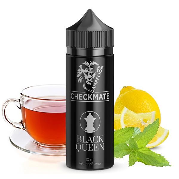 Black Queen - Checkmate von Dampflion - 10ml Aroma in 120ml Leerflasche