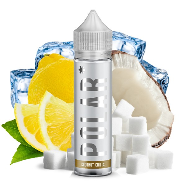 POLAR Coconut Chills - TNT Vape - 20ml Aroma in 60ml Flasche