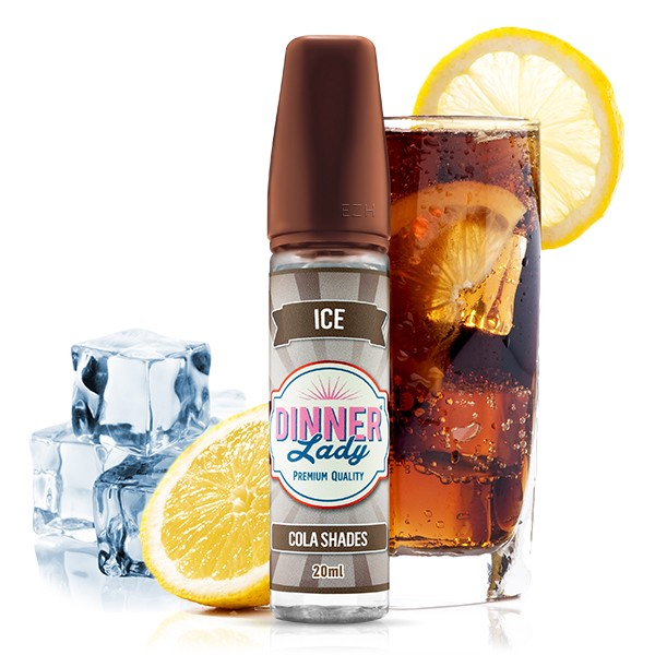 Cola Shades ICE - Dinner Lady - Longfill Aroma - 20ml Aroma in 60ml Flasche