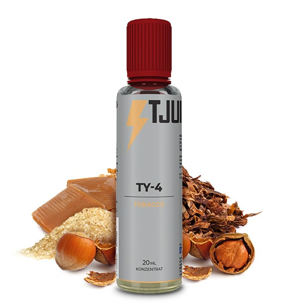Tobacco TY4 - T-Juice - 20ml Aroma in 60ml Flasche
