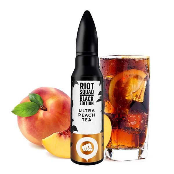 Ultra Peach Tea - Riot Squad - Black Edition - 15ml Aroma