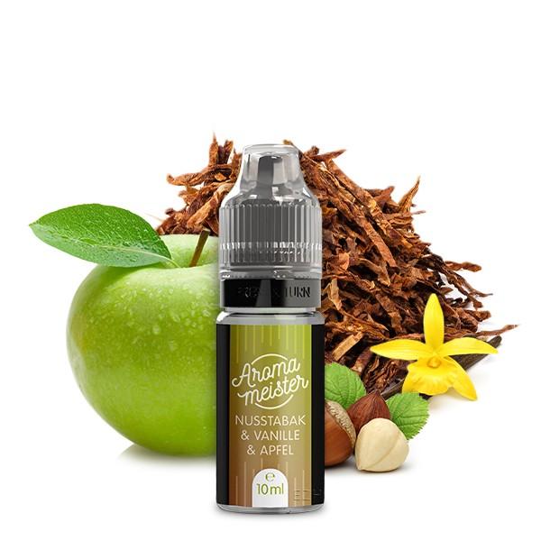 Nusstabak & Vanille & Apfel Aroma von Aromameister - 10 ml