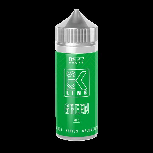 Green No.3 - KTS Green - 30ml Aroma in 120ml Flasche