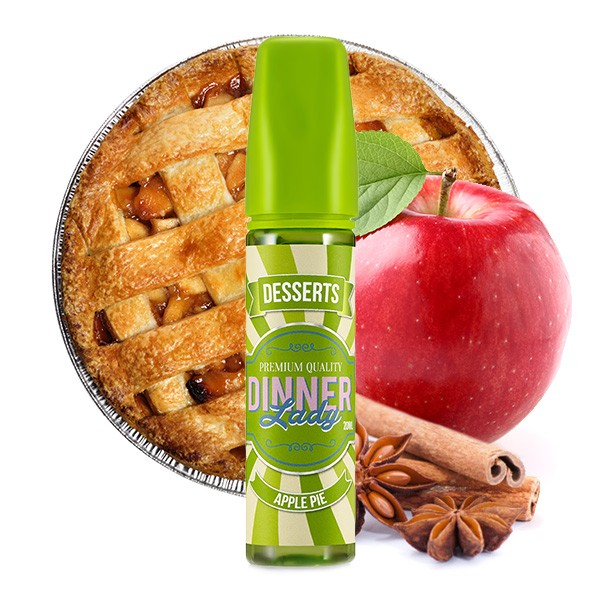 Apple Pie - Dinner Lady - Longfill Aroma - 20ml Aroma in 60ml Flasche