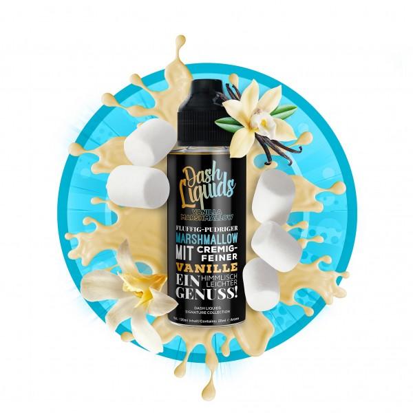Vanilla Marshmallow - Dash Liquids Signature Collection- 25ml Aroma in 120ml Flasche