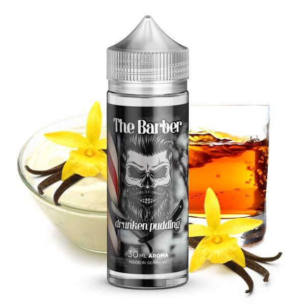 Drunken Pudding - The Barber - Kapka's Flava - 30ml in 120ml Flasche