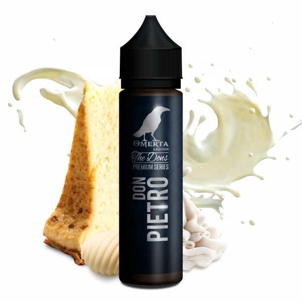 Don Pietro - The Dons Serie - Omerta Liquids - 20ml Aroma in 60ml Flasche