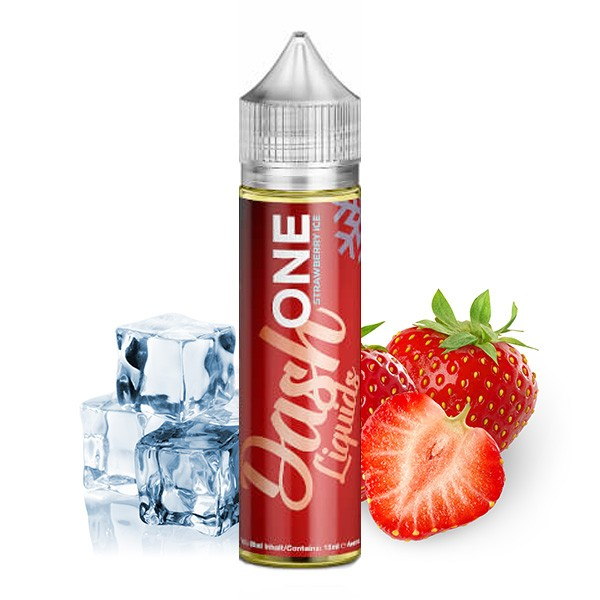 ONE Strawberry Ice - Dash Liquids - 15ml Aroma in 60ml Flasche