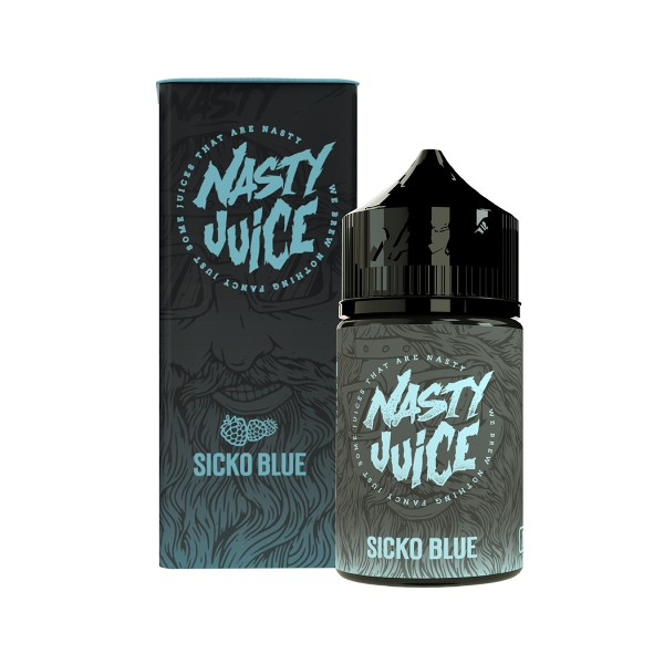 Sicko Blue - Berry Series - Nasty Juice - 20ml Aroma in 60ml Flasche