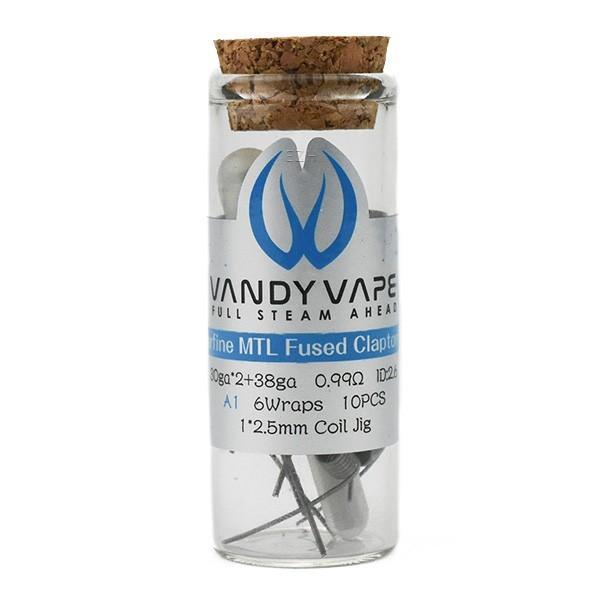 Vandy Vape Prebuilt A1 Superfine MTL Fused Clapton Coil 0,99 Ohm - P8