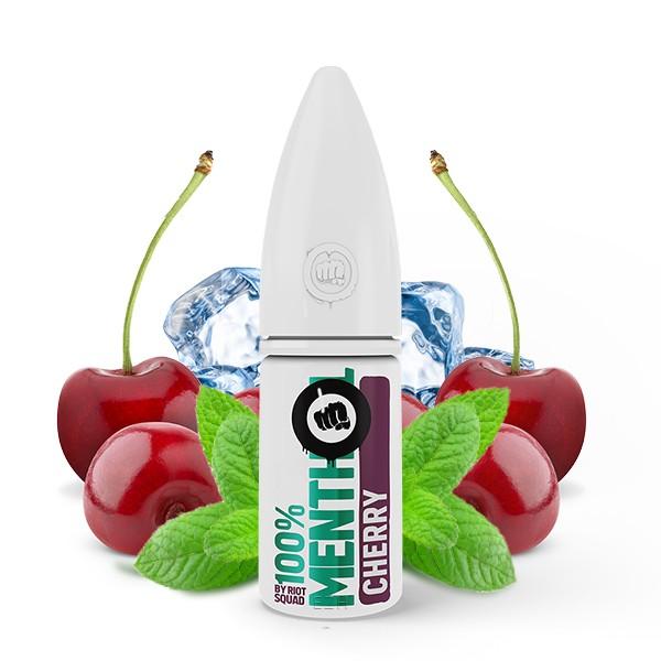Menthol Cherry - Riot Salt 100% Menthol - Hybrid Nic Salt - 10ml