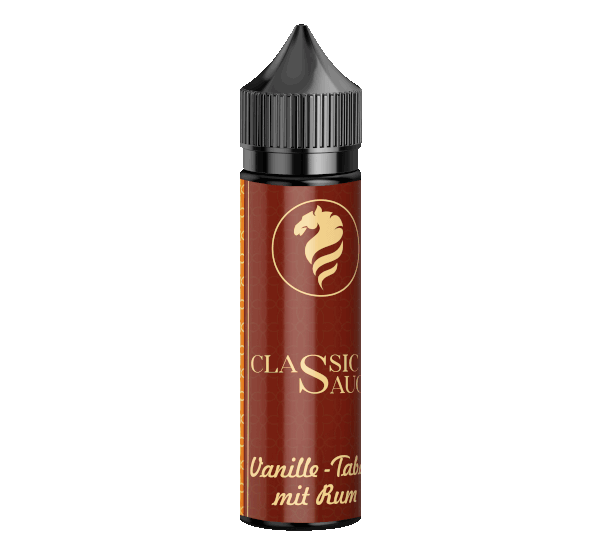 Vanille Tabak mit Rum - Classic Sauce - 20ml Aroma in 60ml Flasche