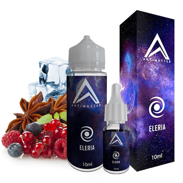 Eleria - Antimatter - 10ml Aroma in 120ml Leerflasche
