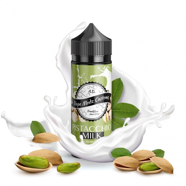 Pistacchio Milk - Vape Modz Customs - 30ml Aroma in 120ml Flasche