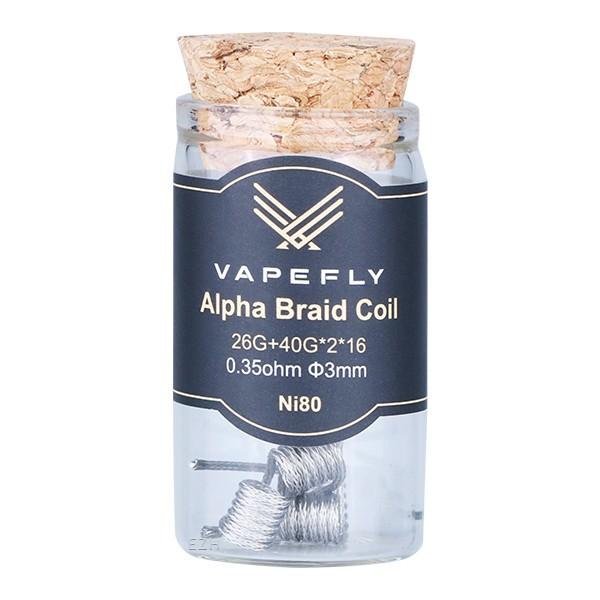 Vapefly Prebuilt Ni80 Alpha Braid Coil 0,35 Ohm - KS319