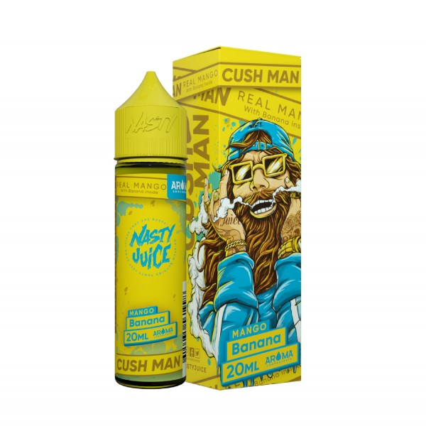 Mango Banana - Cush Man Series - Nasty Juice - 20ml Aroma in 60ml Flasche