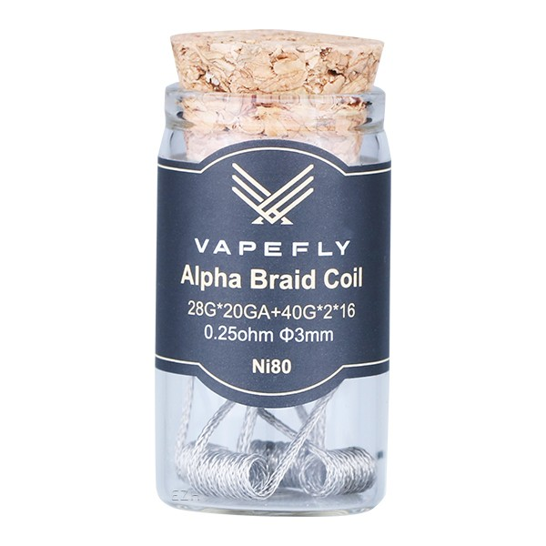 Vapefly Prebuilt Ni80 Alpha Braid Coil 0,25 Ohm - KS321