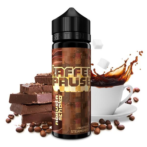 Robusta Schoko - Kaffeepause by Steamshot - 20ml Aroma in 120ml Flasche