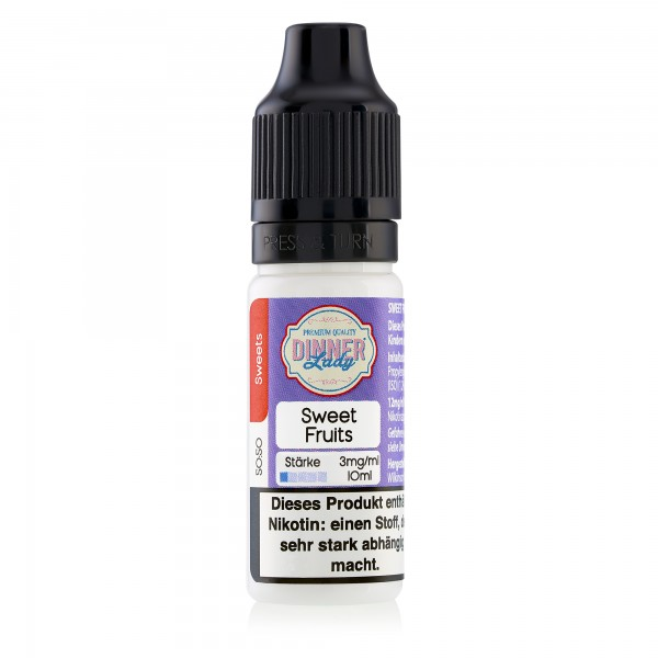 Sweet Fruits - Dinner Lady - Liquid - 10ml