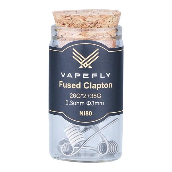 Vapefly Prebuilt Ni80 Fused Clapton Coil 0,3 Ohm - KS312
