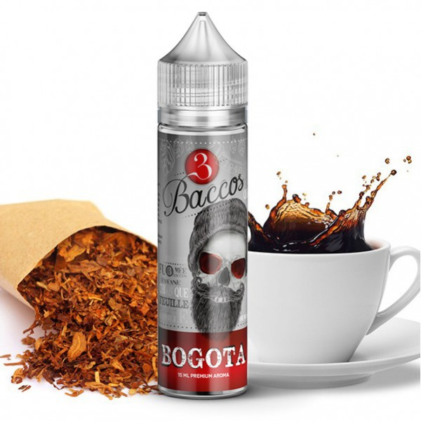 Bogota - 3 Baccos by PGVG - 15ml Aroma in 60ml Flasche