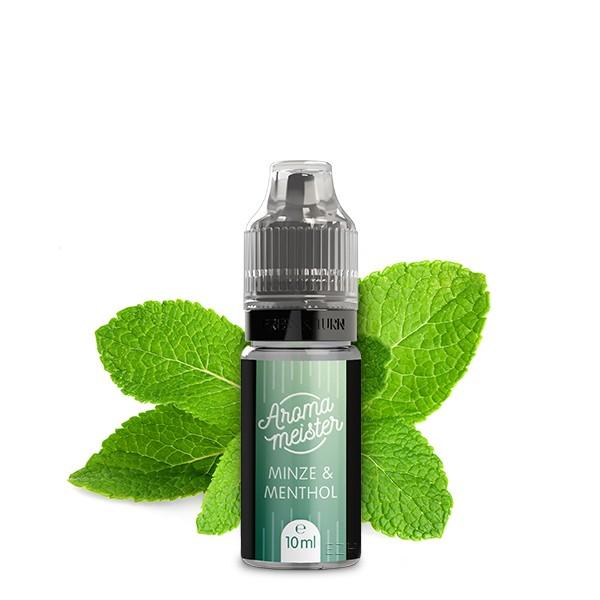 Minze & Menthol Aroma von Aromameister - 10 ml