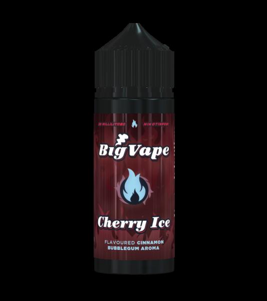 Cherry Ice - Big Vape - 20ml Aroma in 120ml Flasche