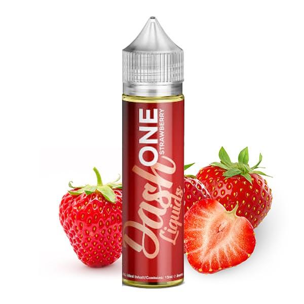 ONE Strawberry - Dash Liquids - 15ml Aroma in 60ml Flasche