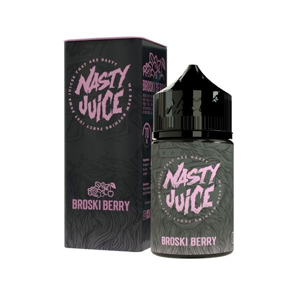 Broski Berry - Berry Series - Nasty Juice - 20ml Aroma in 60ml Flasche