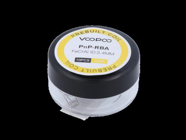 Voopoo Prebuilt Coils für PnP-RBA - 0,6 Ohm - 10 Stück