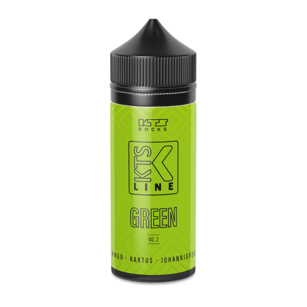 Green No.2 - KTS Green - 30ml Aroma in 120ml Flasche